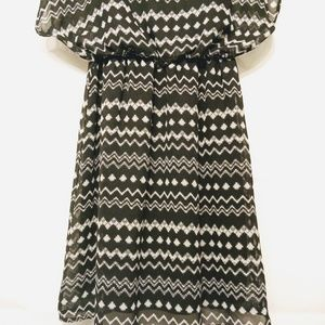 Pinc Dresses - Pinc black and white dress size S